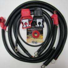 Zen 1 ga Cable Set - Jeep WJ 1999-2004 Grand Cherokee with 4.0L I6 #12712