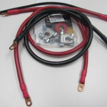 Ford - Bronco and F-150 small/big block, 3 cable, 1 ga MILITARY cable set #18872