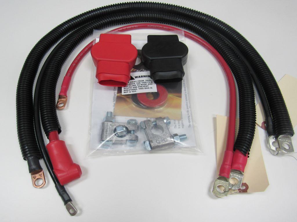 Jeep YJ(1987-1995) 2.5L I-4 (4 Cyl) Wrangler Cable Set #5577-Z