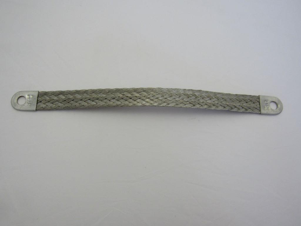 Willys & Military Jeeps - 8 inch 4 ga braided bonding strap #2153