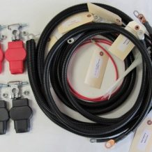 Ford Battery Cable Kit F250/F350/Excursion 1999-2003 7.3L - 2/0