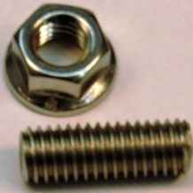 Side Post adapter (short)  -  1 inch SS Stud w/Nut