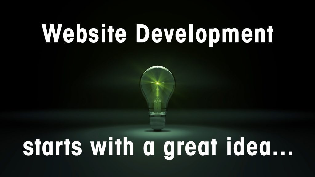 Website Development starts with a great idea.