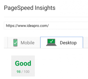Wordpress Website Design with Great Page Speed